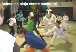 Animation enfants - Ninjas contre samourais