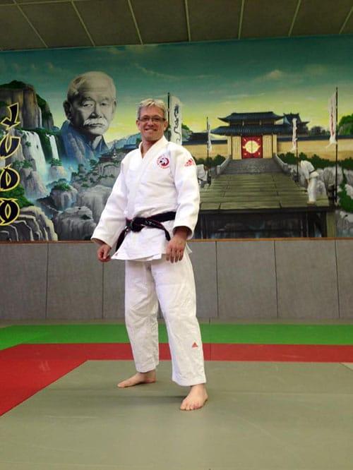 Professeur de judo Fabrice Avignon
