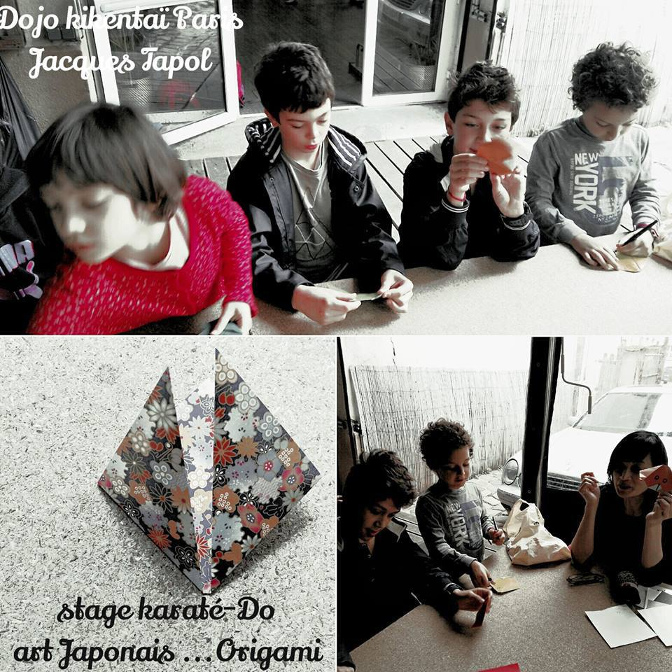 Stage Karaté-Do, arts Japonais, Origami