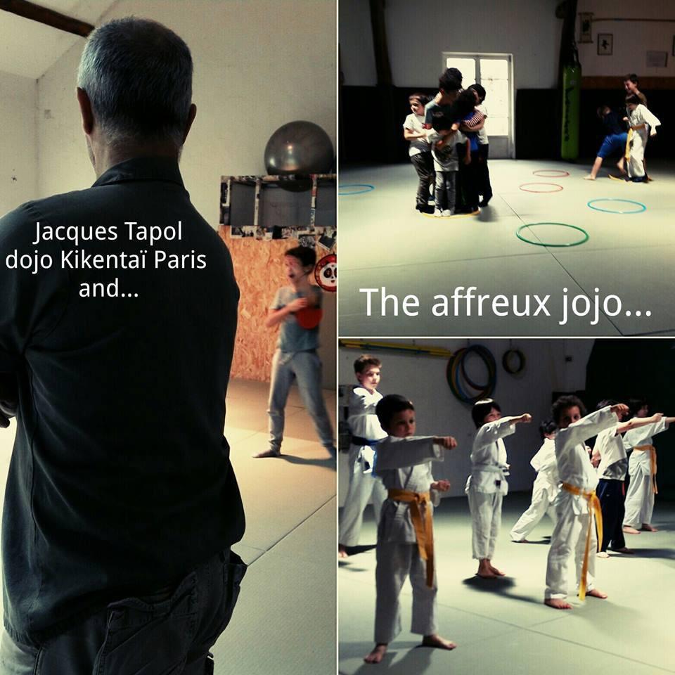 Jacques Tapol Dojo Kikentaï Paris
