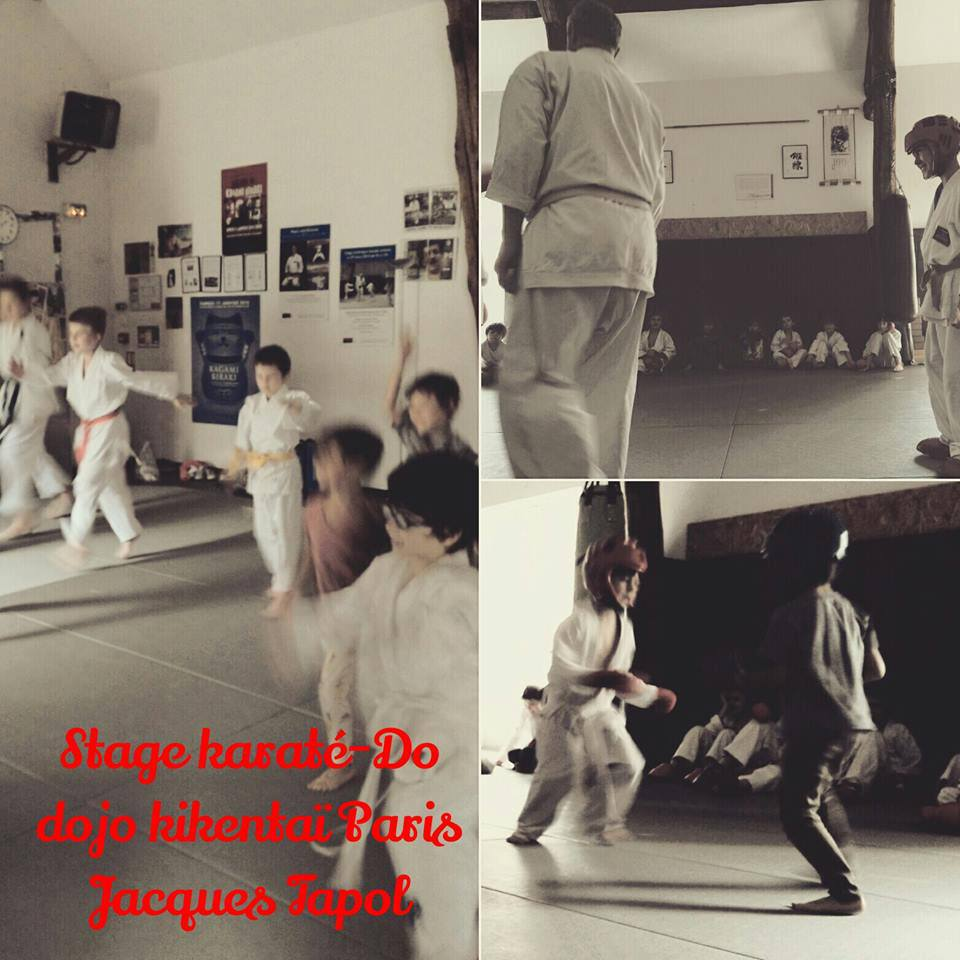 Stage Karaté-Do dojo kikentaï Jacques Tapol
