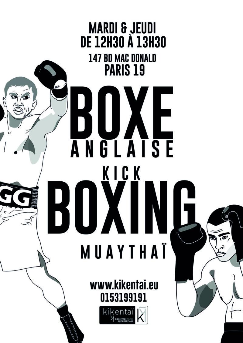 Boxe anglaise et Kick boxing