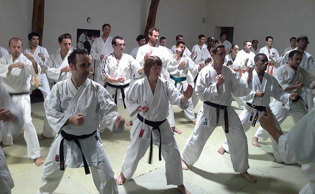Stage de karaté fondé sur les Katas le 24 novembre
