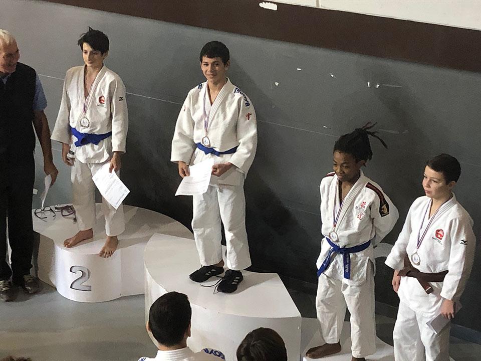 Championnant de Paris de Judo le 12 janvier 2020