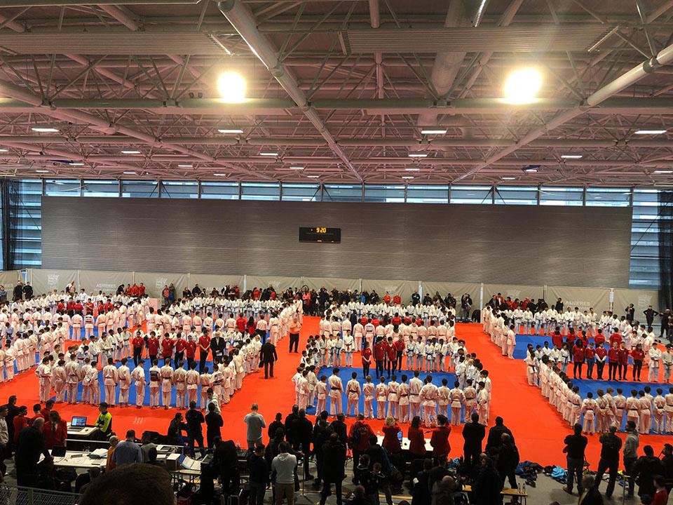 Championnant de Judo d'ile-de-France le 2 février 2020