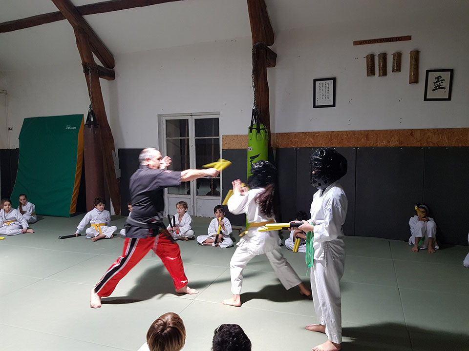 Stage de Nunchaku du 31 Janvier 2020 - Photo 12
