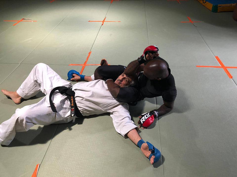 Entrainement Karaté MMA avec Jacques Tapol et Yan Sulpice