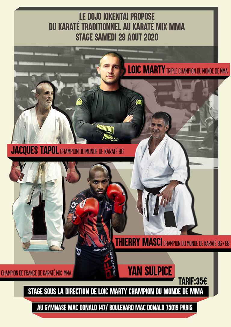 Stage Karaté MMA - Affiche de l'événement