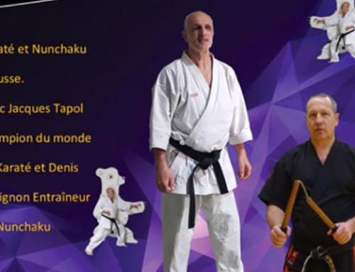 3 STAGES ÉTÉ | Karaté Nuchaku et Multi-activités avec Jacques Tapol